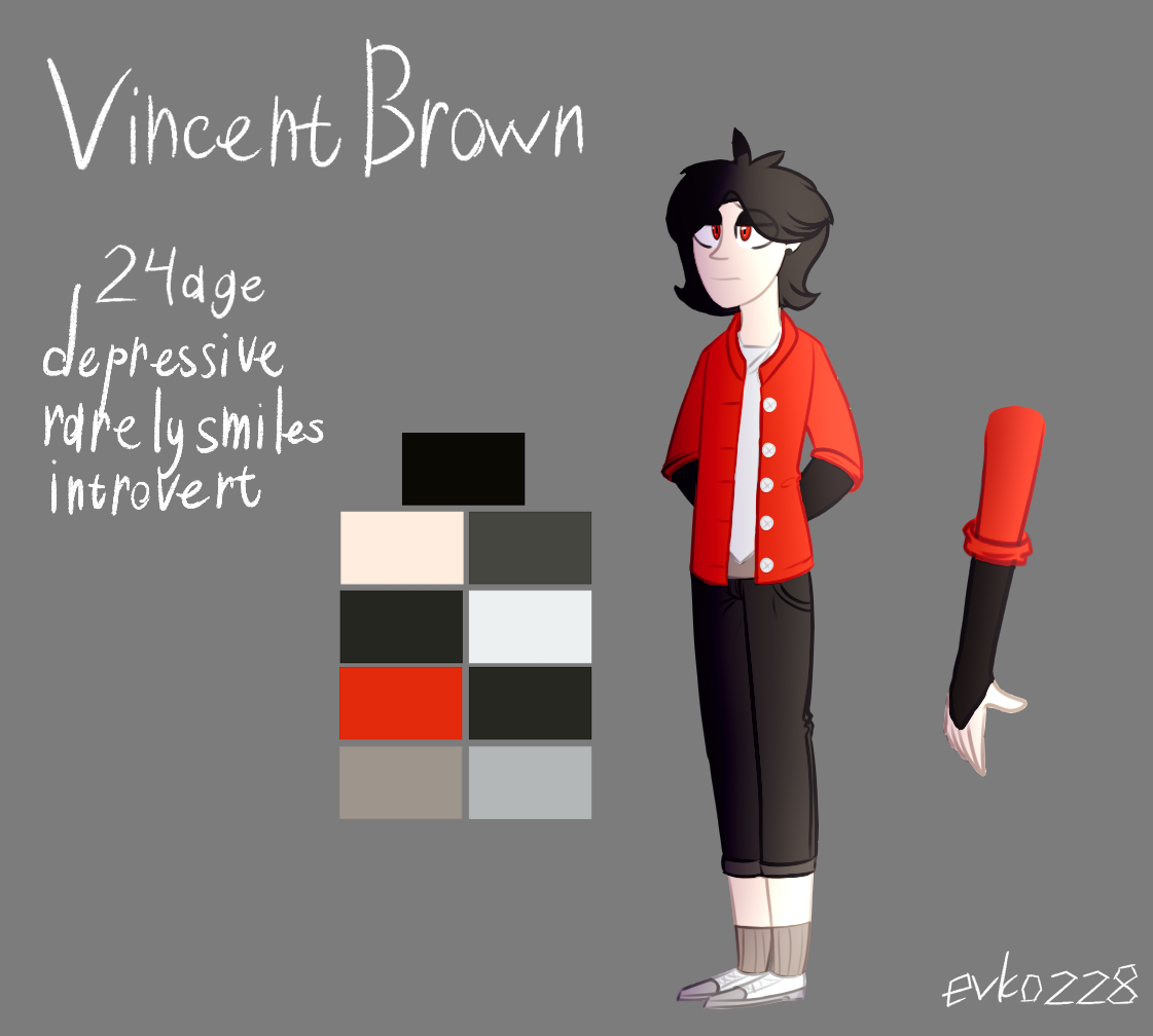 : Vincent Brown v2.0 : by Serri765
