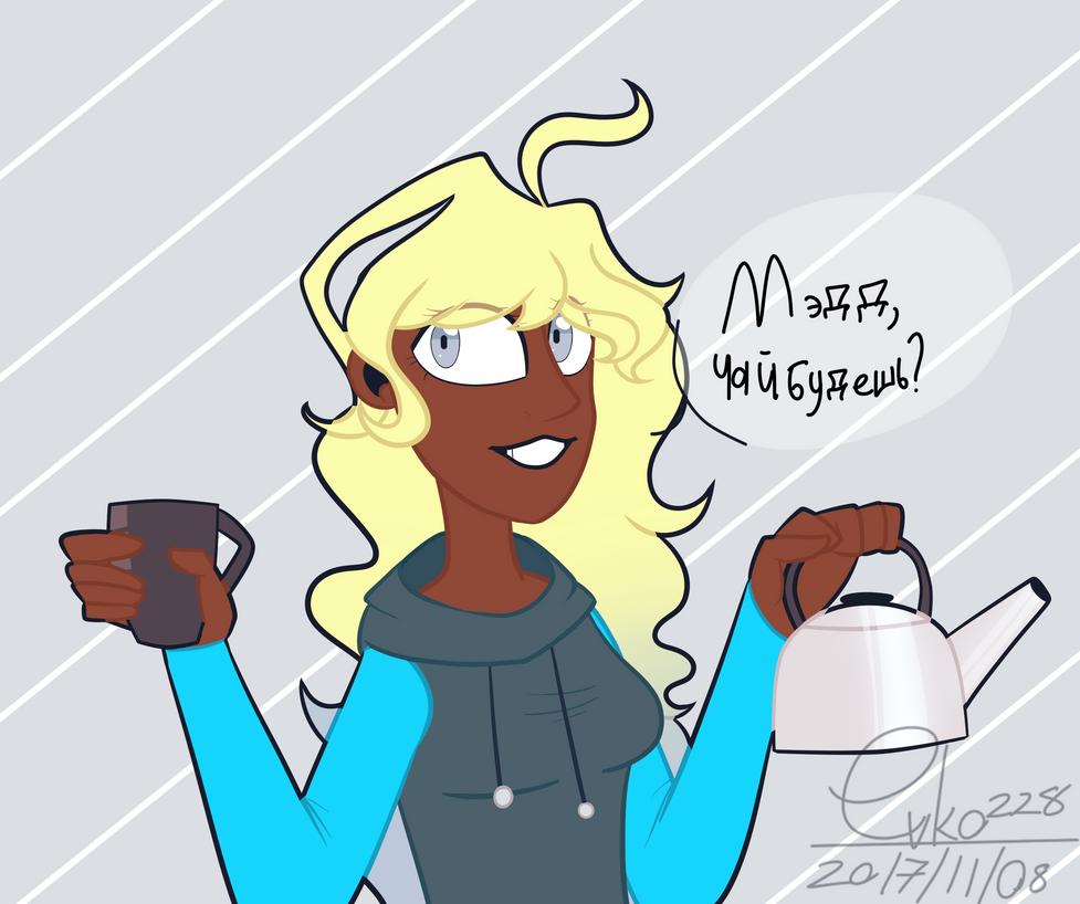 : - Madd do u want tea? - : by Serri765