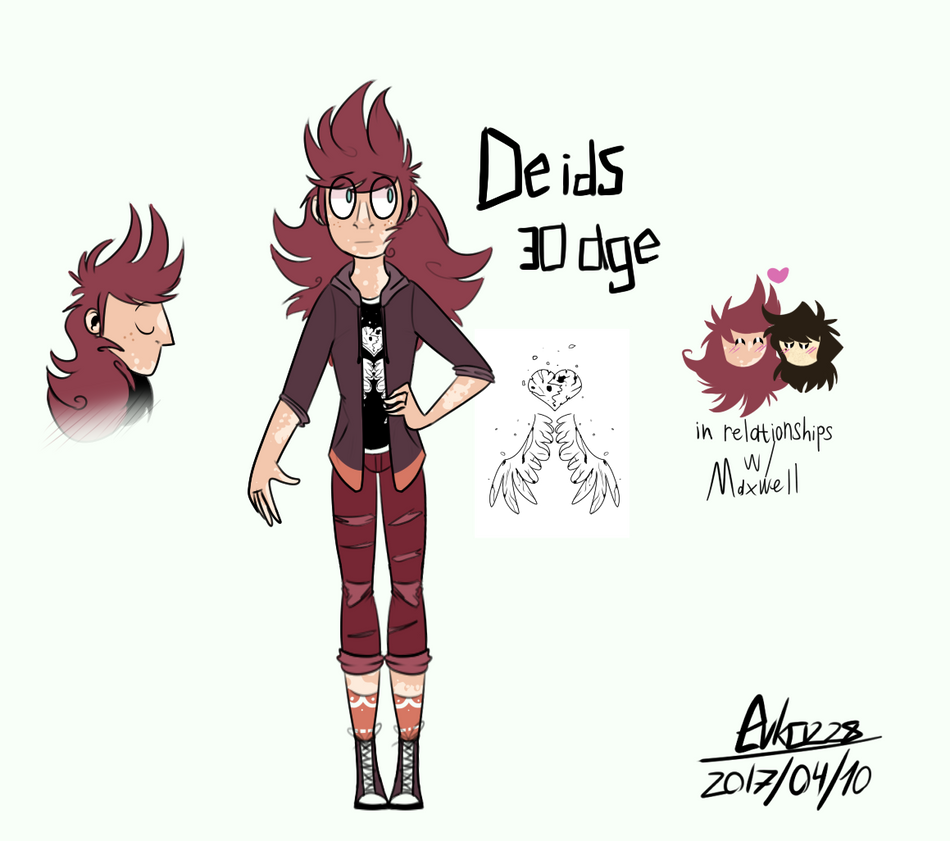 : Deids [new ref] : by Serri765