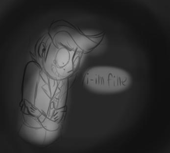 : ''i-i'm fine'' : by Serri765