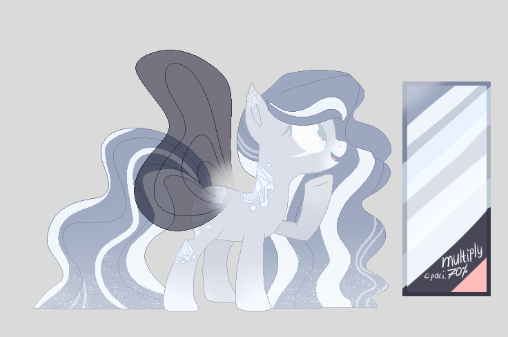 : [CLOSED] winter pony adopt : by Serri765