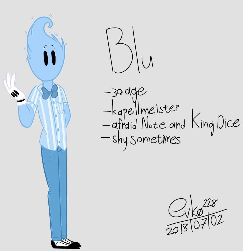 : Blu : by Serri765