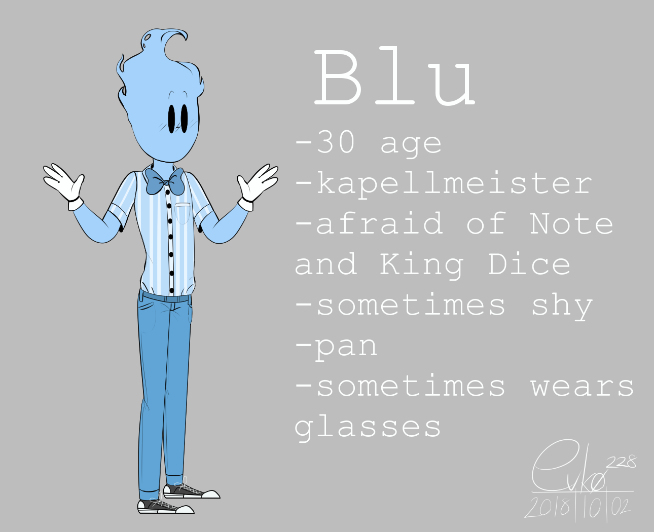 : Blu [updated] : by Serri765