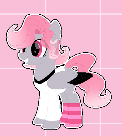 [CLOSED] : pink pony adopt : by Serri765