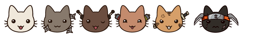 Cats by HiddenLanternPoints