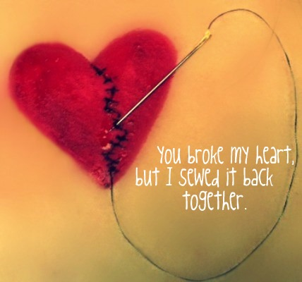 how can you mend my broken heart: