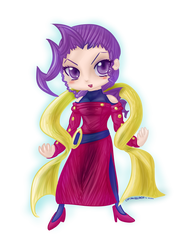 Rose - Street Fighter [SD - Chibi] by CaptainZelda07