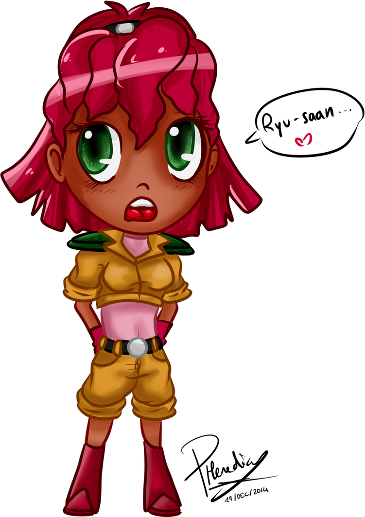 Chibi Lucy - Streaming by CaptainZelda07