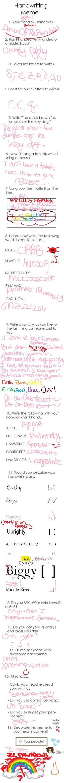 Handwriting Meme Yayyy