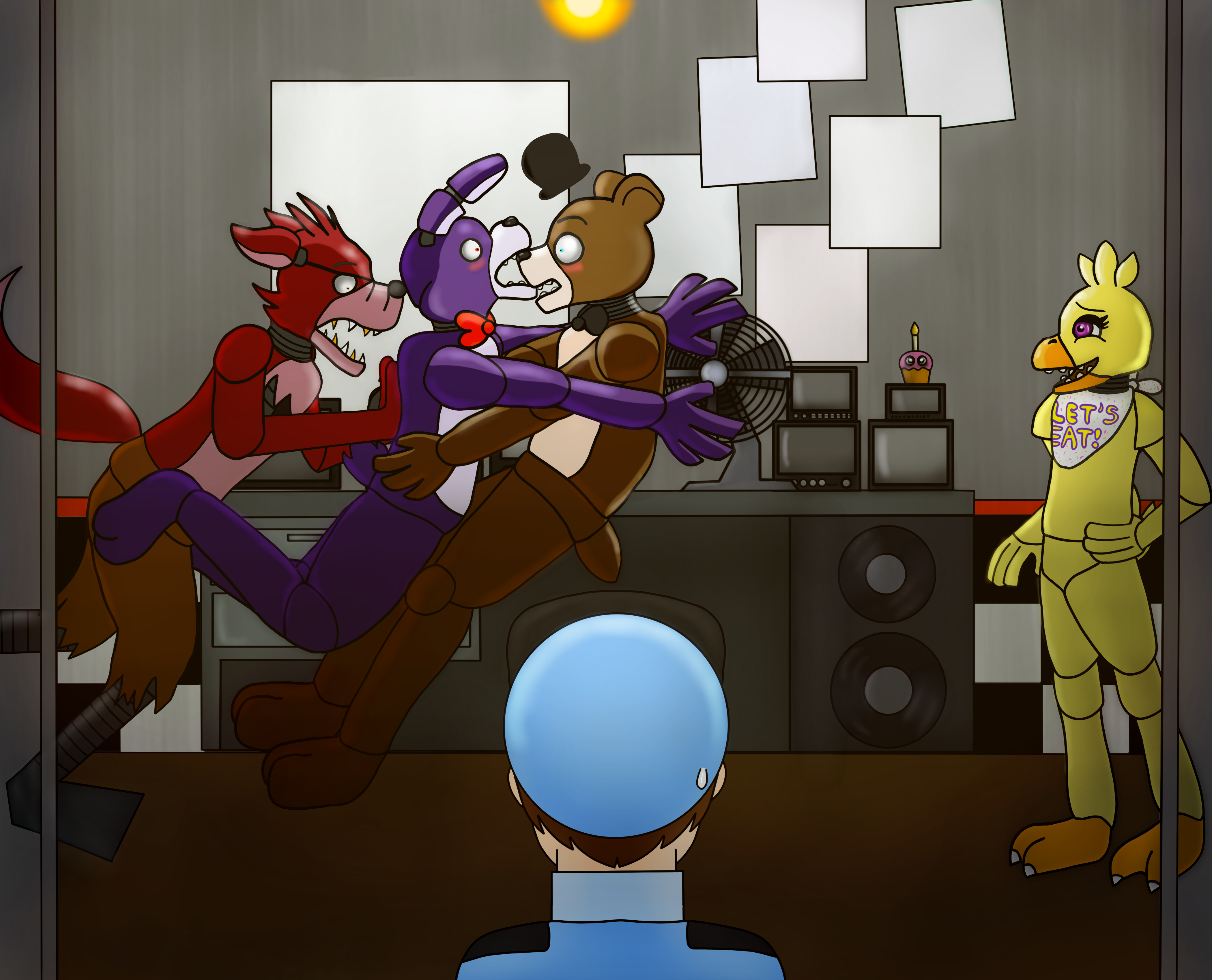 This is why foxy is alone fnaf by dartwind on deviantart