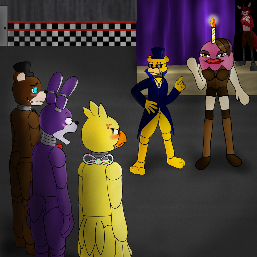 Jealous? FNaF by Dartwind on DeviantArt