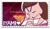 Iyami is our savior (Stamp) by Dartwind