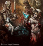 Sideshow Collectibles Flesh Faction Artwork