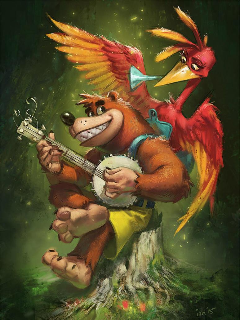 Banjo Kazooie Tribute by bigmac996