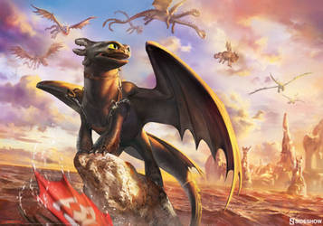 HTTYD: Toothless and the Dragons of Berk by bigmac996