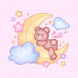 sweet dreams // sticker club may 2021