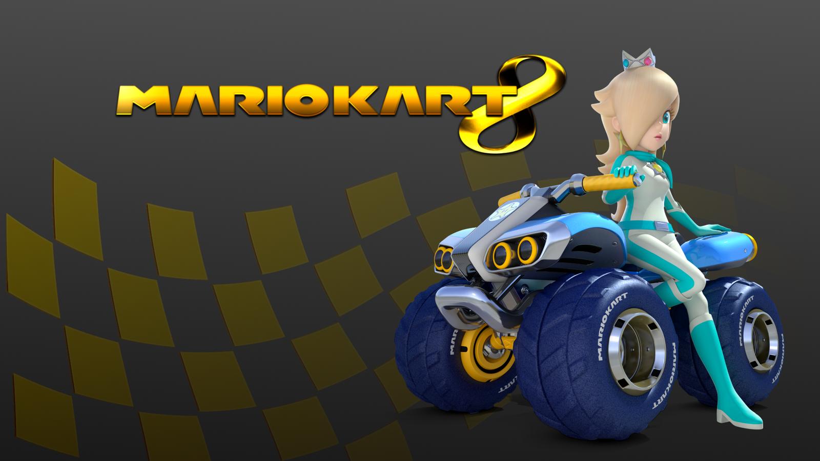 Mario Kart 8 Wallpaper: Golden Mario Kart 8 Wallpaper