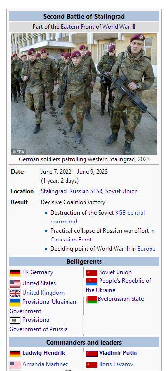 Battle of Stalingrad [alt future]