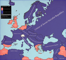Europe, 1960 [althistory][Sequel to Europe, 1950]