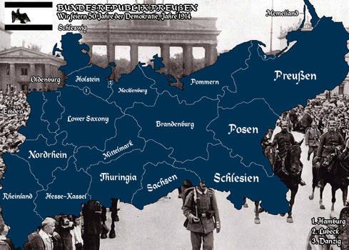 Bundesrepublik Preussen [Alt History]