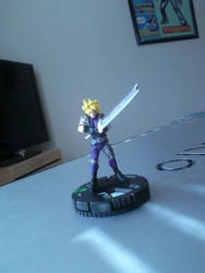 Cloud Strife Custom Heroclix by theAngelofRedemption