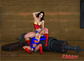 Shrunken heroines by maur47