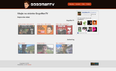 GogoManTV web by SamuelSk