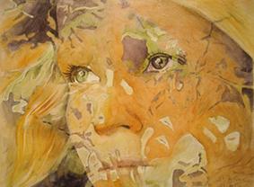 Purple Eye by paintedmonke
