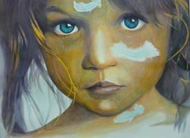 Angelfeathers by paintedmonke