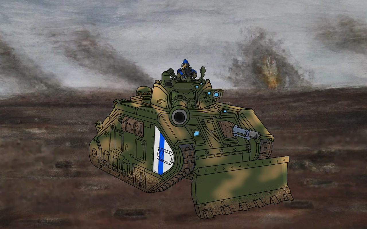 Death Korps Of Krieg Tank By Ironwolfaus On Deviantart