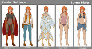 Fashion Challenge Athena