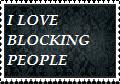 Blocking people stamp by PrincessNyra