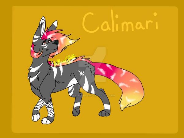 Calimari by FeatheredFluff