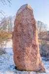 Viking Runestone - Vallentuna Sweden