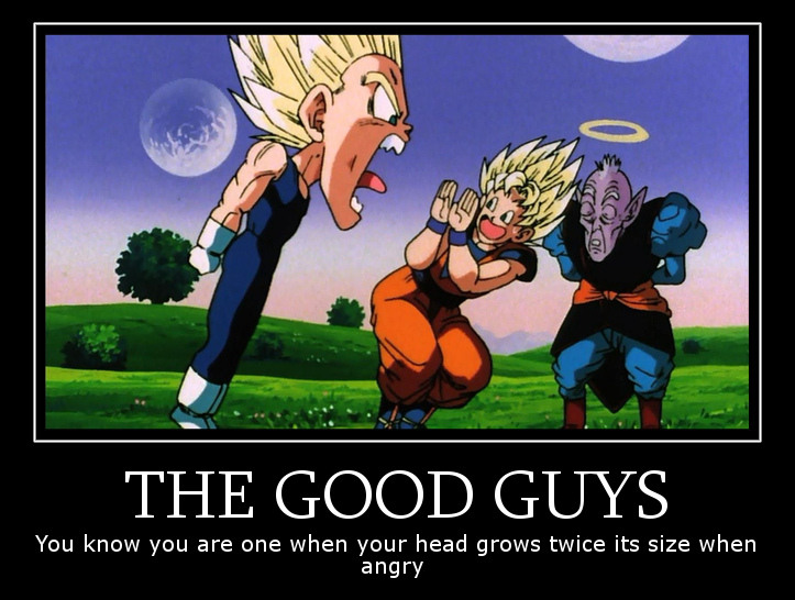 Motivational DBZ Big Head by Wyvern07