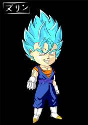 Vegito Super Saiyan Blue Chibi