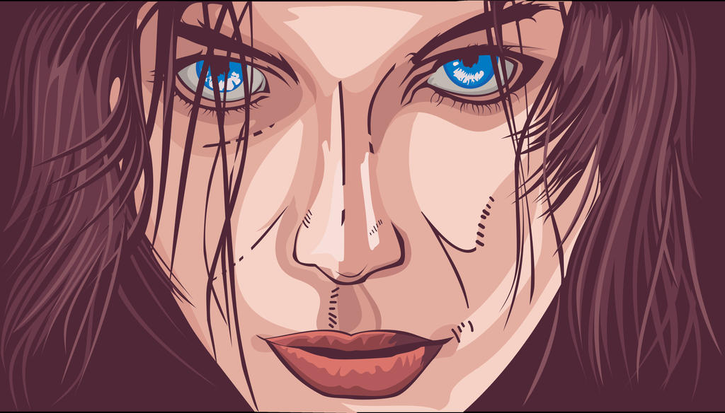 Selene (Kate Beckinsale) Underworld Vector