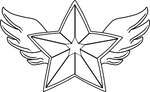 Divine Star Brooch Base