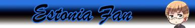 Estonia Fan Button by Iggwilv