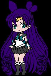 Chibi Sailor Chaos by Iggwilv