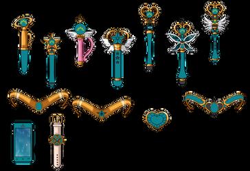 Sailor Chaos NSG Items by Iggwilv