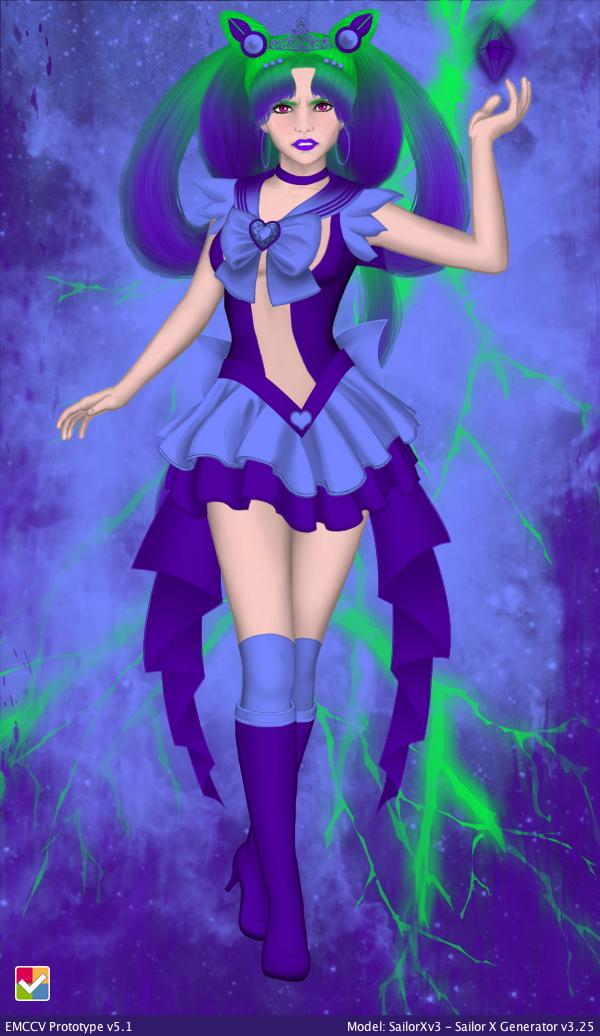 Sailor Plutonium Scorpion by Iggwilv