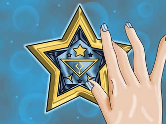 Pallas Senshi Tri Star Broach by Iggwilv