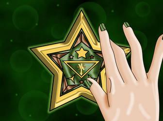 Juno Senshi Tri Star Broach by Iggwilv