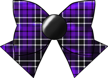 Basic Scout Bow In Plaid 1 by Iggwilv