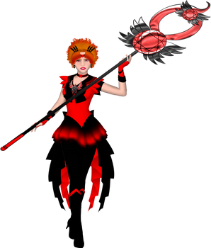 Sailor Hell with Hell Staff