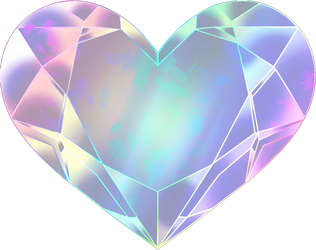 SMC Cosmos-Moon Super Heart Transfomation Crystal by Iggwilv
