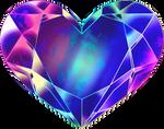 SMC Mercury Super Heart Transfomation Crystal