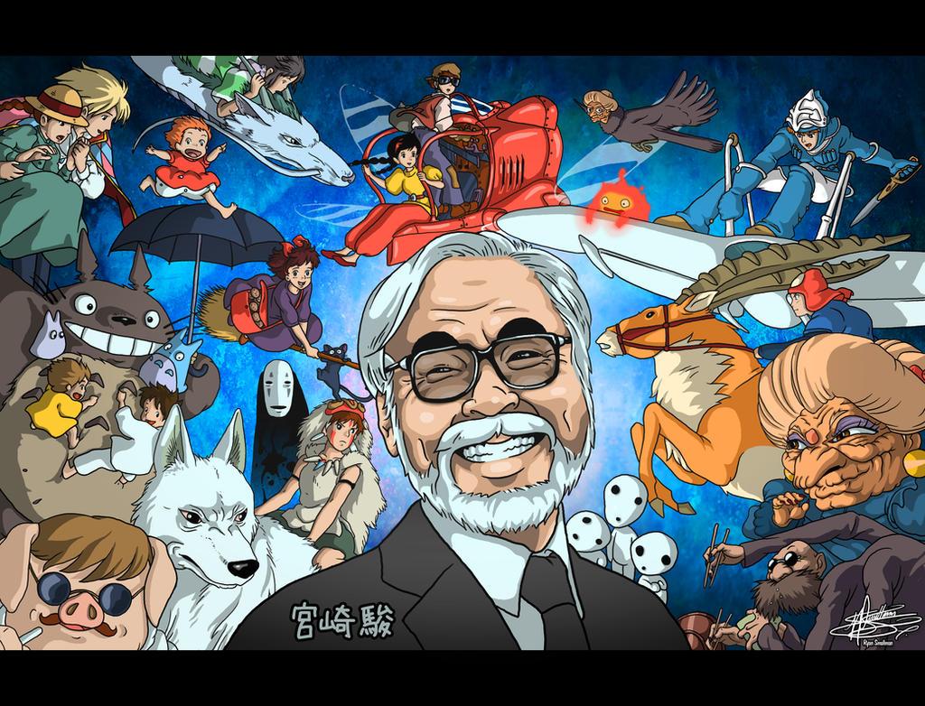 Miyazaki's Creations by Smallsam52