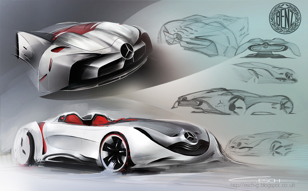 Mercedes Benz spider concept by G-ESCH